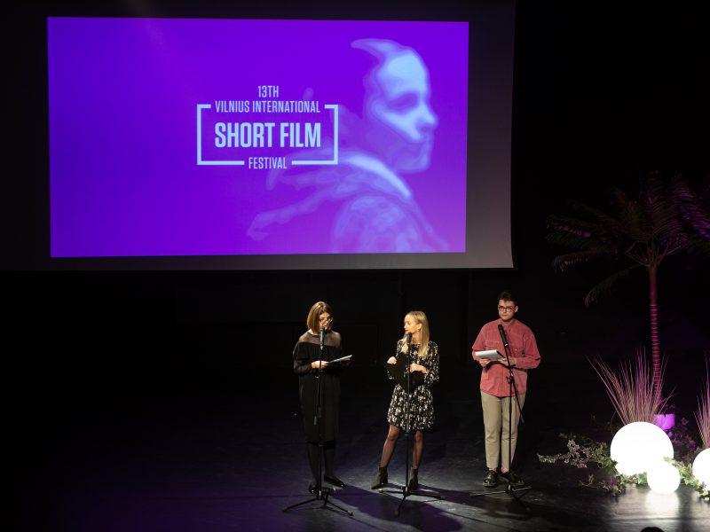 13-ojo Vilniaus tarptautinio trumpųjų filmų festivalio atidarymas