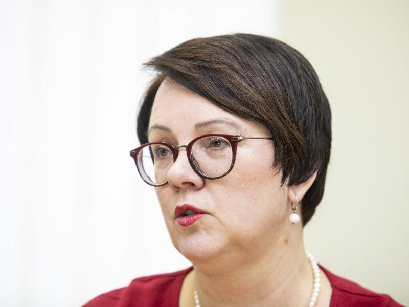 VMI vadovė E. Janušienė ketina siekti antros kadencijos