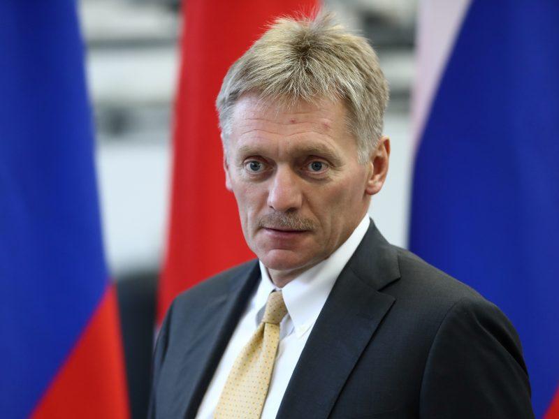 """D. Peskovas: Rusija sankcijų atveju gali pati nutiesti dujotiekį """"Nord Stream 2"""""""