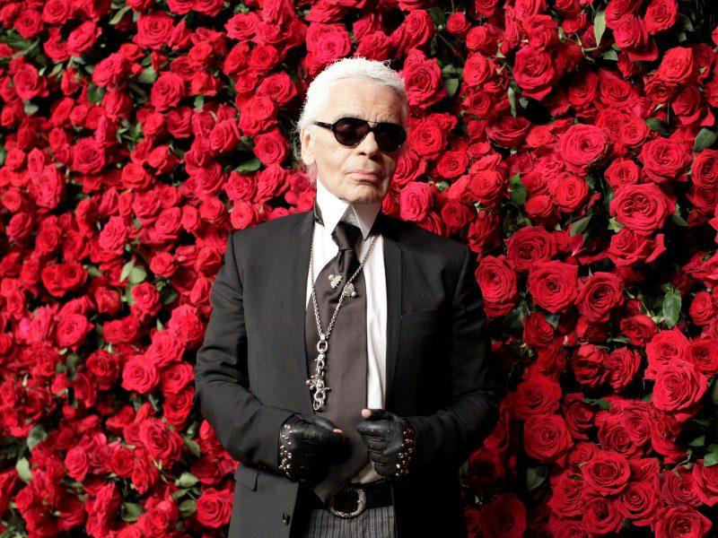 Dizainerio K. Lagerfeldo palaikai bus kremuoti be iškilmingos ceremonijos