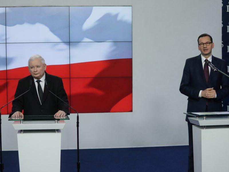 Naujosios Lenkijos vyriausybės sudėtis siunčia tęstinumo signalą
