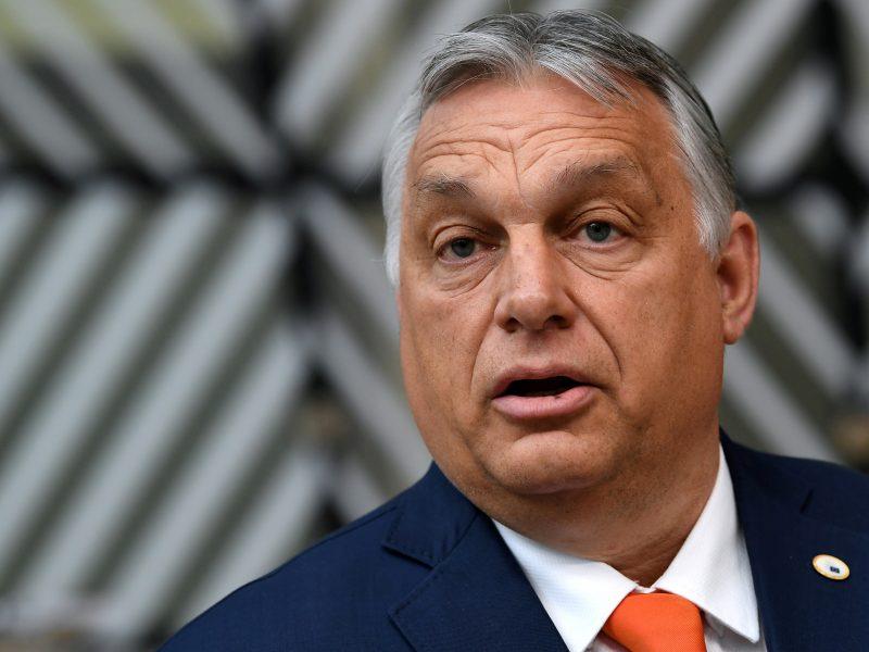 ES lyderiai spaudė Vengriją dėl kontroversiško įstatymo prieš LGBT