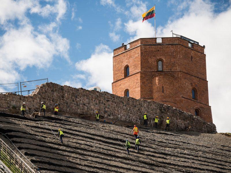 Gedimino kalno sutvarkymas: muziejus vėl paskelbė konkursą