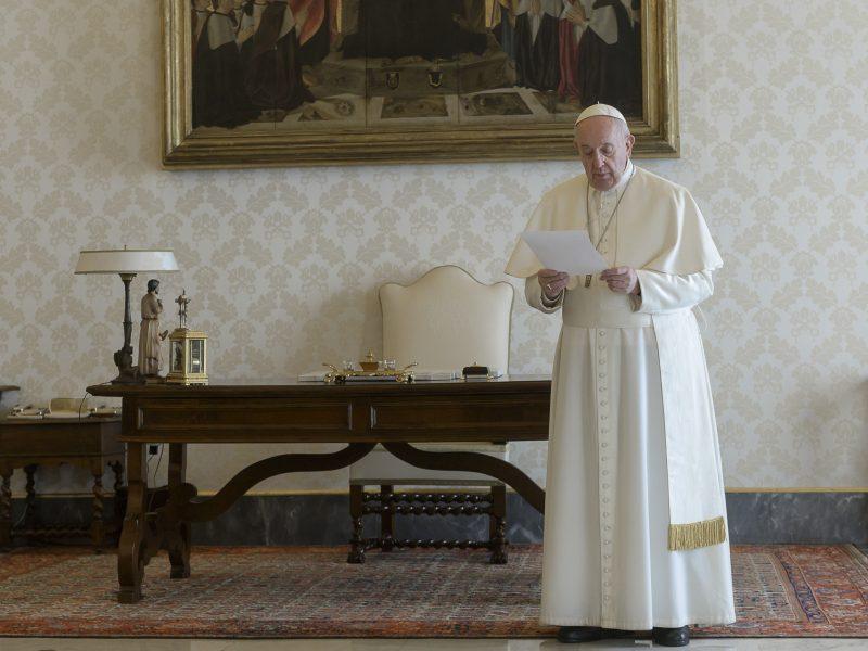 Paaiškėjo popiežiaus tyrimo dėl koronaviruso atsakymas