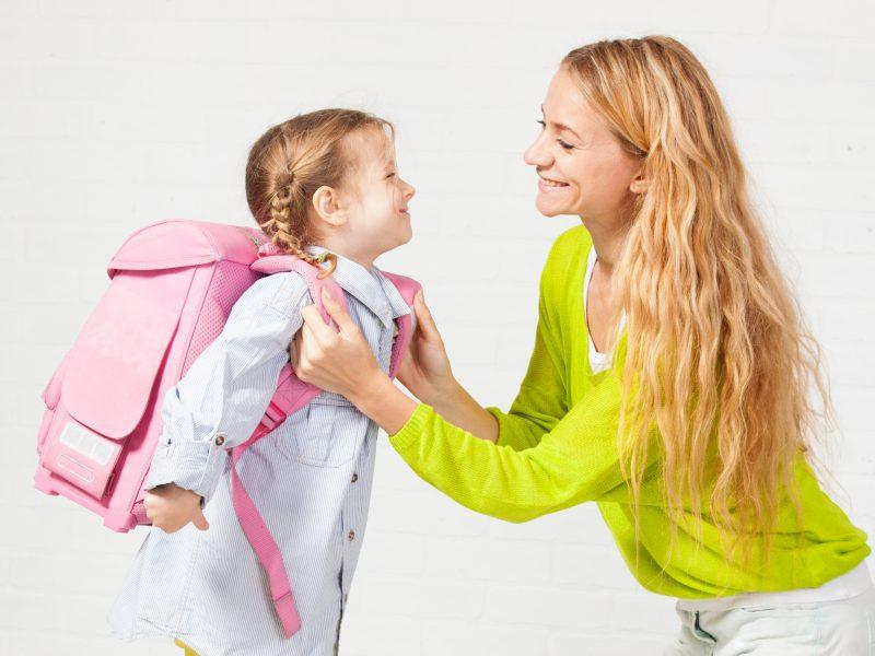 Į mokyklinį rugsėjį – be baimės ir nerimo