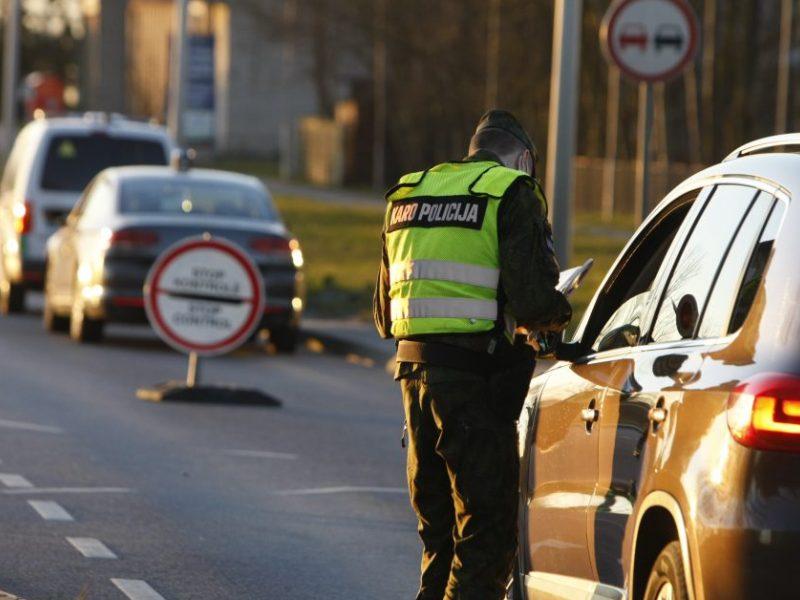 Uostamiestyje patikros poste įkliuvo girtas vairuotojas