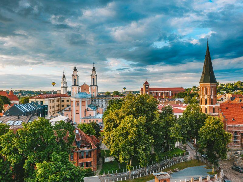 Paskutinį rugsėjo savaitgalį Kaunas kviečia turistauti iš peties