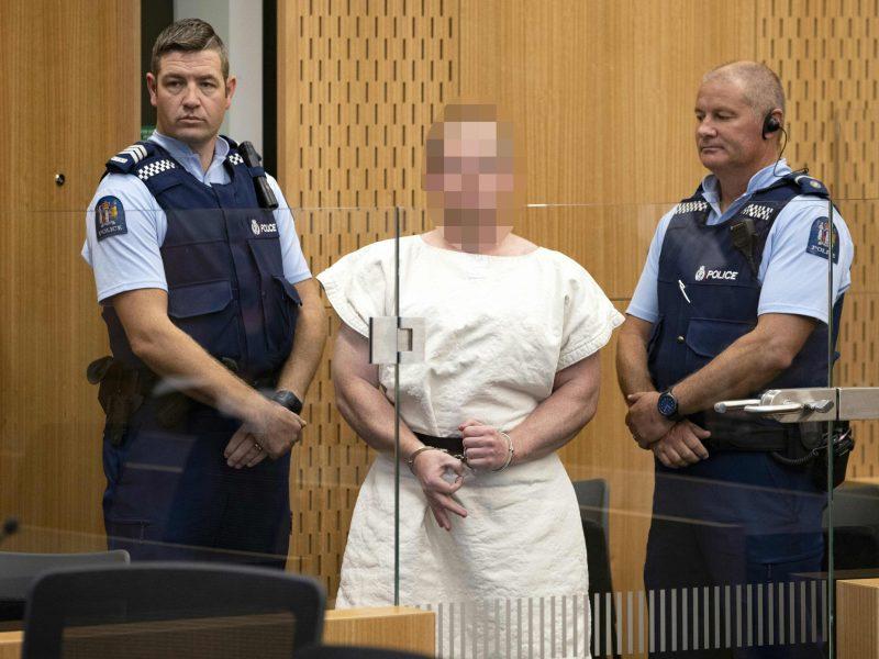 Naujosios Zelandijos šaulys atsisakė advokato, teisme atstovaus sau pats