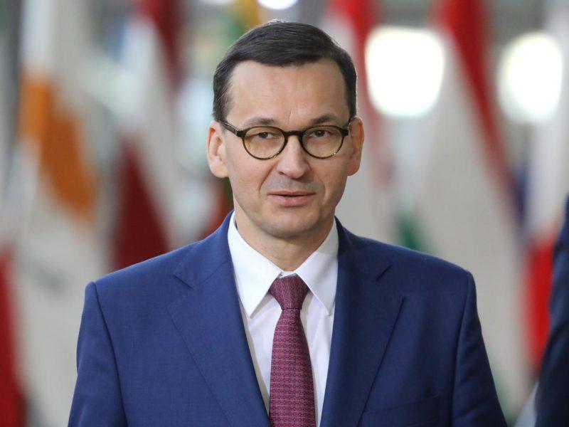 Lenkijos premjeras: pirkti rusiškas dujas – tas pats, kas pirkti ginklus iš V. Putino