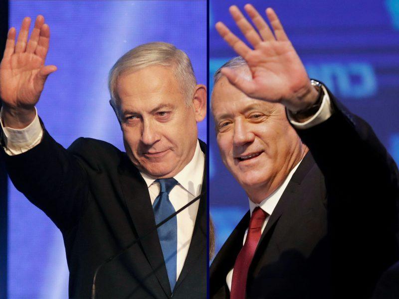 Izraelio parlamento rinkimų nugalėtojas vis dar neaiškus