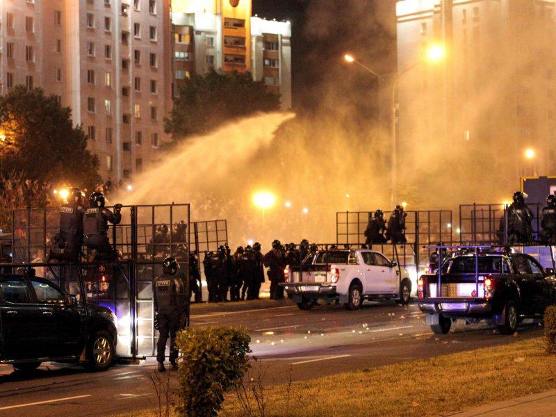 Protestai po rinkimų Baltarusijoje