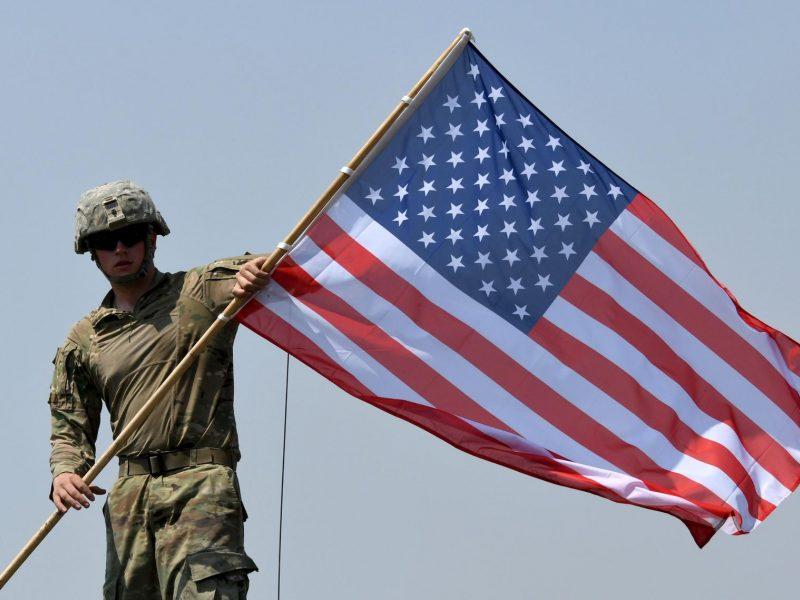JAV iki 2 500 karių sumažino savo kontingentus Afganistane ir Irake