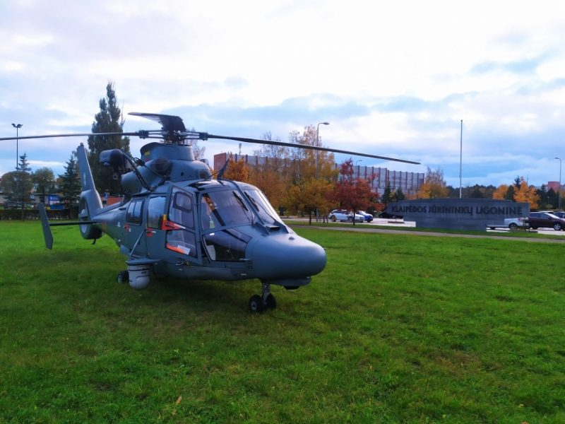 Karinės oro pajėgos iš Klaipėdos į Kauną atgabeno donoro organą