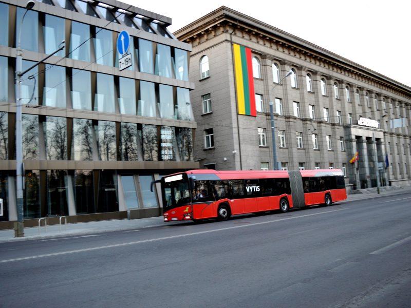 Sostinės viešojo transporto srautus Kovo 11-ąją stebės kontrolė