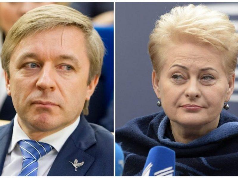 M. Lingė: prezidentė ramiai reaguoja į R. Karbauskio sprendimą su ja nebendrauti