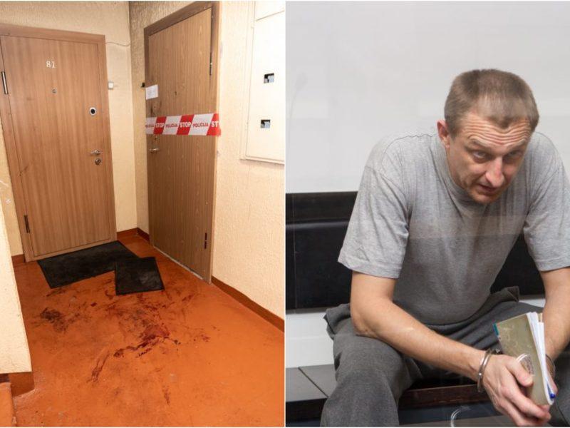 Teismas nepakeitė bausmės už dviejų tautiečių nužudymą nuteistam ukrainiečiui
