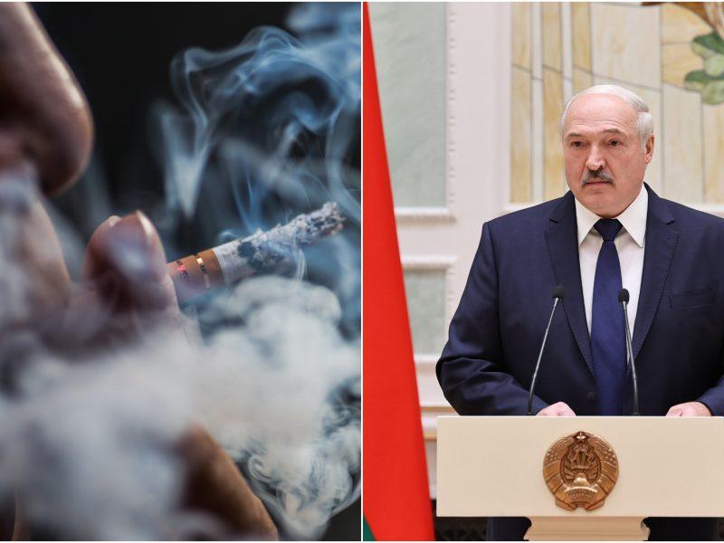 Lietuvos rūkoriai kasmet dešimtimis milijonų eurų paremia A. Lukašenkos režimą
