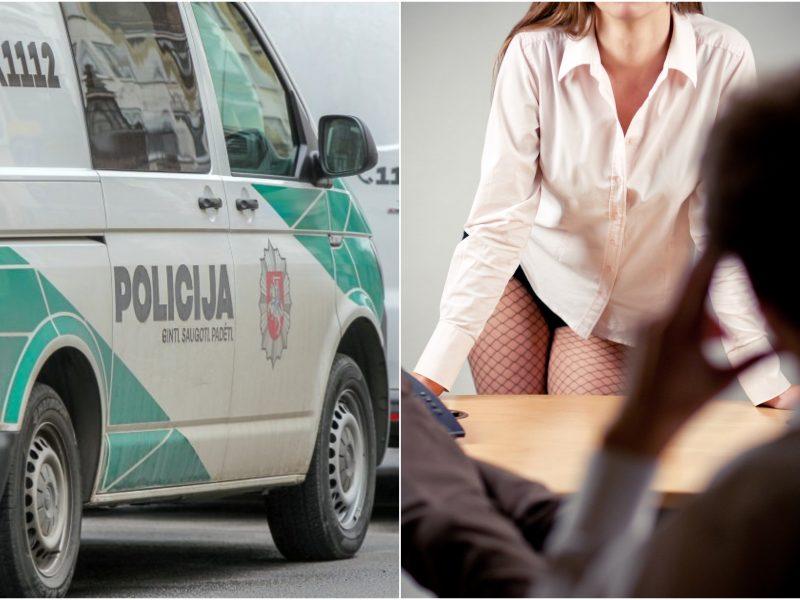 Kauno prostitutes reketavęs Lazdijų policininkas įviliotas į spąstus