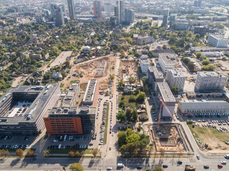 Aplinkos gerinimo darbai Vilniuje jau suplanuoti