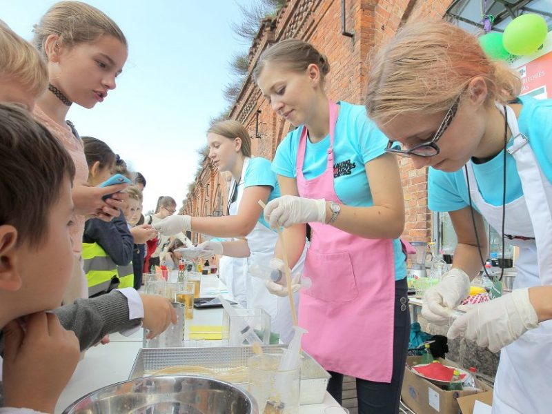 Mokslo festivalyje – rekordinis lankytojų skaičius