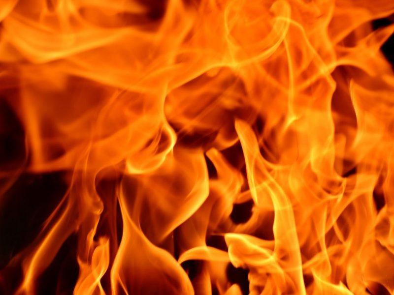 Kilus gaisrui nukentėjo liepsnas gesinti puolęs šeimininkas