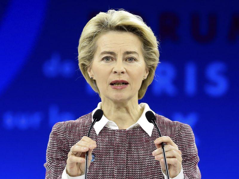 U. von der Leyen ragina ES daugiau dėmesio skirti užsienio politikai