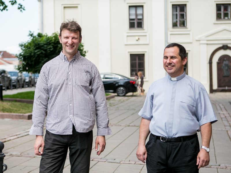 Dvasininkai iš Slovakijos prisijaukino Kauną