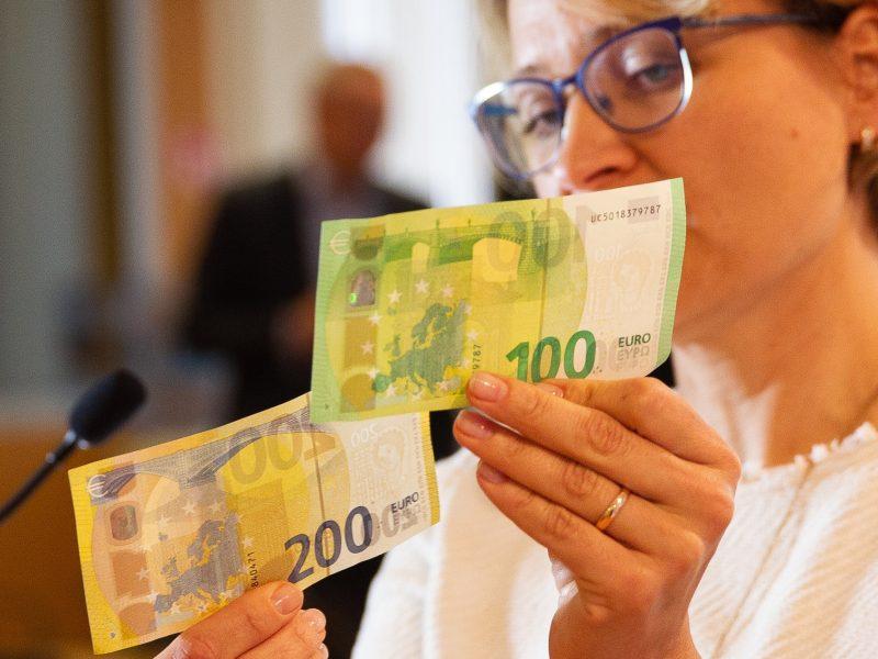 Baimė dėl nevaldomos infliacijos nepagrįsta