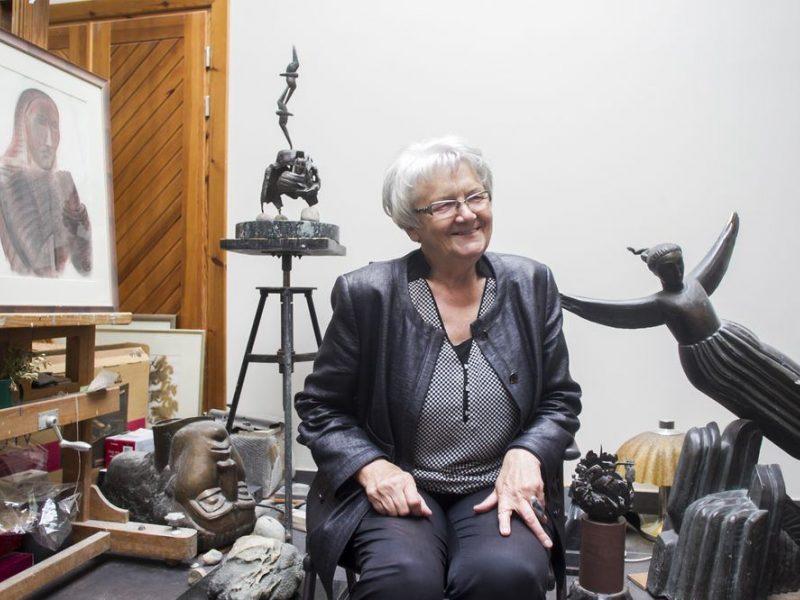 Skulptorė: aš juk su savo darbais tikrai išėjau į Lietuvą