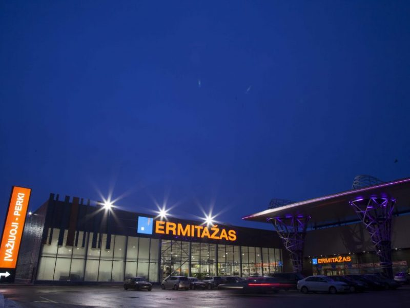 """Atsakymų į vartotojų prašymus nepateikusiam """"Ermitažui"""" skirta 400 eurų bauda"""
