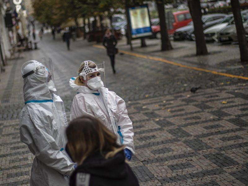 Koronaviruso pandemija Europoje: karštasis taškas – Čekija