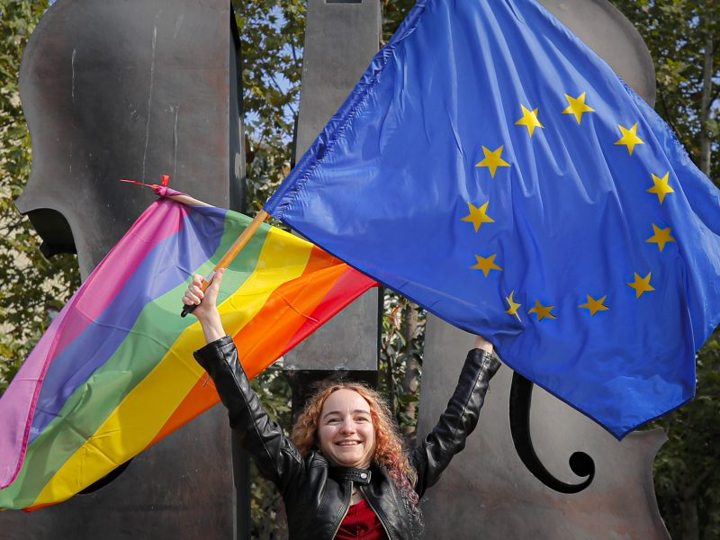 Tyrimas: ES mažėja diskriminacija
