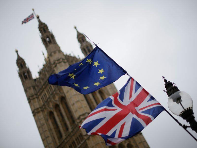 """Paaiškėjo, kada Britanijos parlamentas balsuos dėl """"Brexit"""" sutarties"""