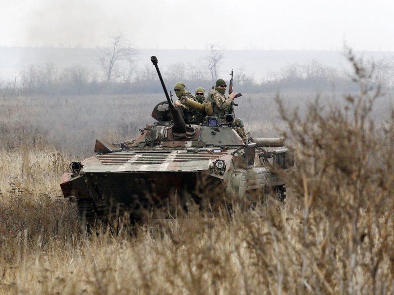 Ukraina neigia nukovusi vaiką per ataką prieš separatistus