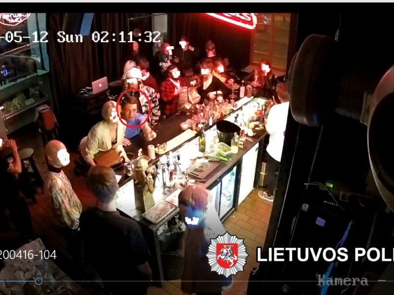 Kas Vilniaus klube pasisavino brangų telefoną?