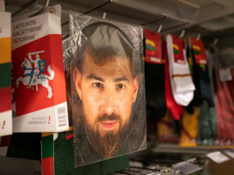 Pasaulio krepšinio čempionato kovas lietuviai stebėjo su tautine atributika