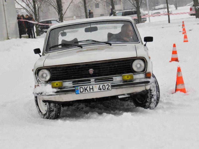 Automobilių sporto veteranai vėl rinksis Kauno rajone