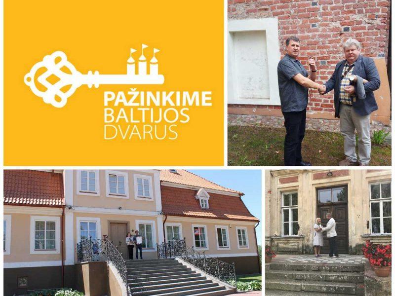 """Tarptautinis projektas """"Pažinkime Baltijos pilis ir dvarus"""" artėja į pabaigą"""