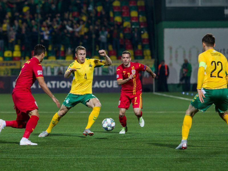 Tautų lygoje – apmaudus Lietuvos futbolininkų pralaimėjimas Rumunijai