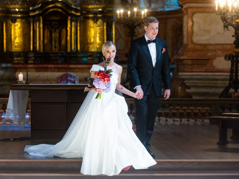 U. Galadauskaitės ir M. Sipario vestuvės