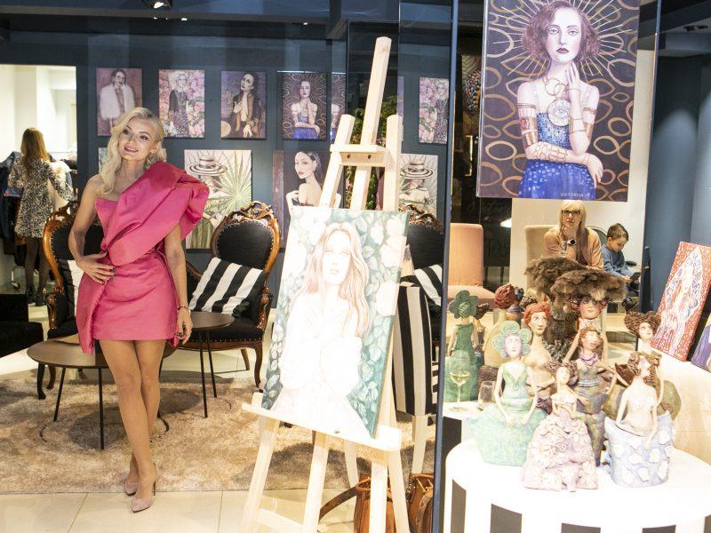 V. Jakučinskaitės tapybos paroda