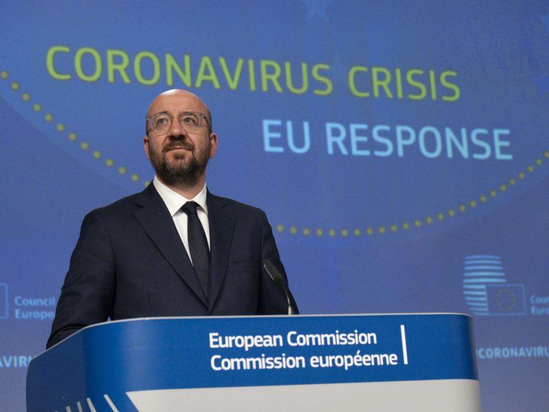 """Ch. Michelio siūlymai dėl ES atsigavimo plano sulaukė """"taupiųjų"""" kritikos"""