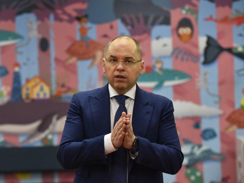 Atleistas Ukrainos sveikatos apsaugos ministras M. Stepanovas