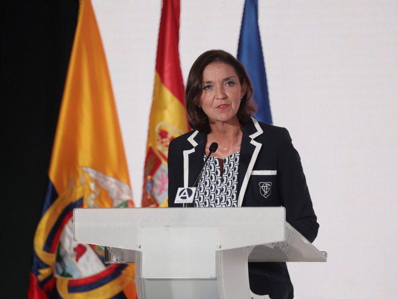Ispanijos ministrė sulaukė kritikos dėl pastabų apie vulkano patrauklumą turistams
