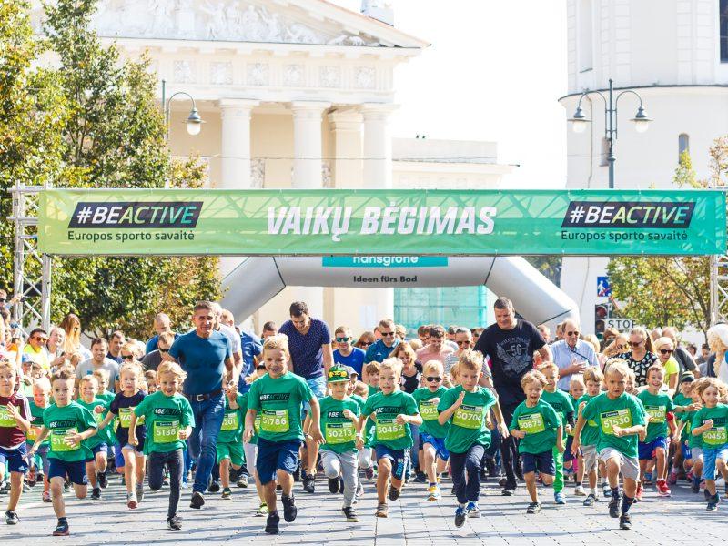 Europos sporto savaitės metu Lietuvoje – daugiau nei 300 fizinio aktyvumo renginių