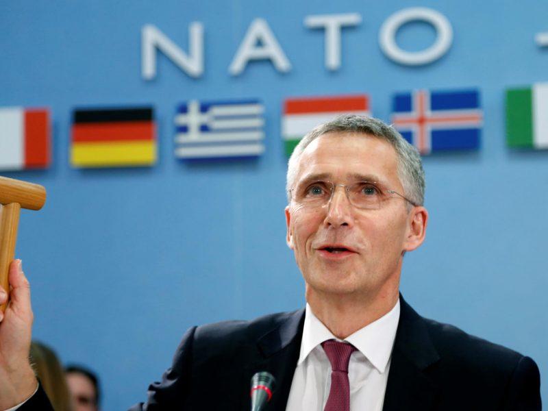 NATO pasmerkė susidorojimą su protestuotojais Baltarusijoje