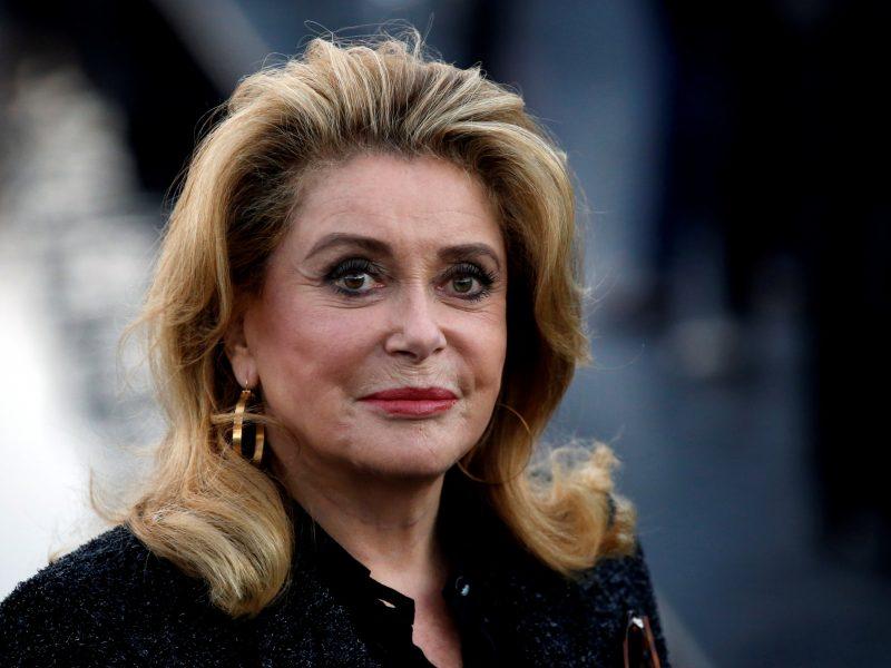 Prancūzų aktorė C. Deneuve patyrė insultą