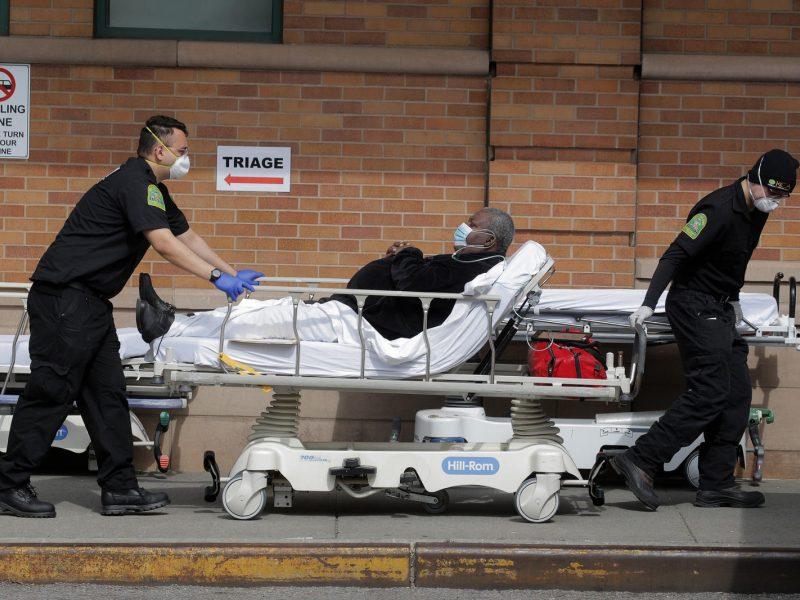 JAV mirė dar 1 260 koronavirusu užsikrėtusių žmonių
