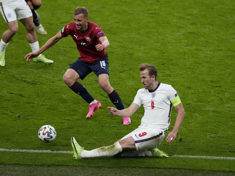 Europos futbolo čempionatas: Čekija–Anglija 0:1