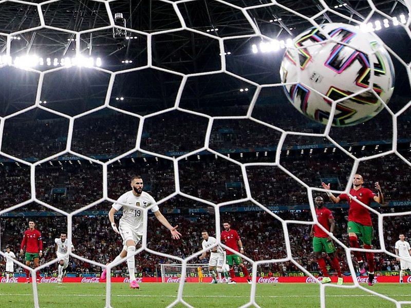 Europos futbolo čempionatas: Portugalija–Prancūzija 2:2